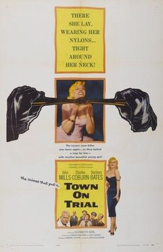 TOWN ON TRIAL-Orig 27x41 Movie Poster- JOHN MILLS 1957 | Entertainment Memorabilia, Movie Memorabilia, Posters | eBay!