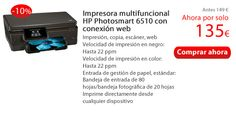 Impresora multifuncional HP Photosmart 6510