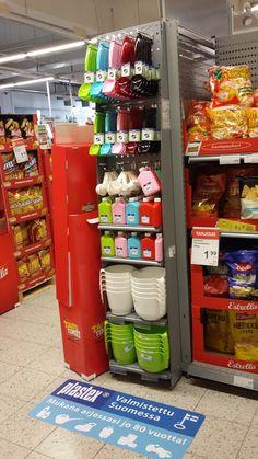 K-supermarket sai näyttävän kauha siivekkeen!