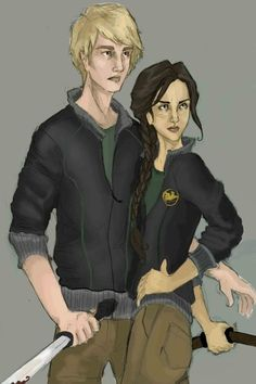 Peeta & Katniss Fan art
