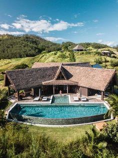 Gallery Spa Luxe, Luxury Spa, Luxury Travel, Fly To Fiji, Fiji Beach, Fiji Travel, Destinations, Destination Voyage, Tropical Houses