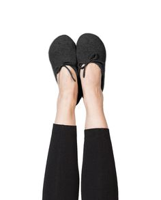 Kaschmir Hausschuhe schwarz Slippers, Flats, Shoes, Fashion, Inside Shoes, Cashmere, Black, Women's, Loafers & Slip Ons
