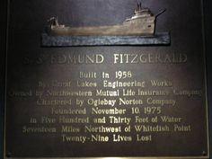 Edmund Fitzgerald Shipwreck | Edmund Fitzgerald Exhibit Inside the Shipwreck Museum - PhotoShare ...