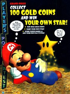 Super Mario 64 competition in Nintendo Power Vol. Super Mario Bros, Super Mario World, Nintendo 64 Games, Super Nintendo, Nintendo Switch, Scooby Doo Toys, Super Mario Princess, Mundo Dos Games, Video Game Companies