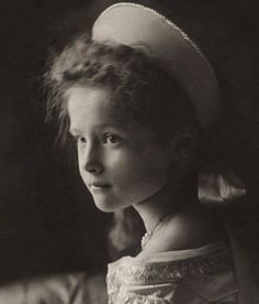 """Her Imperial Highness Grand Duchess Tatiana Nikolaevna of Russia in 1904 (source) """