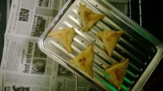 samosas from the oven--baked!