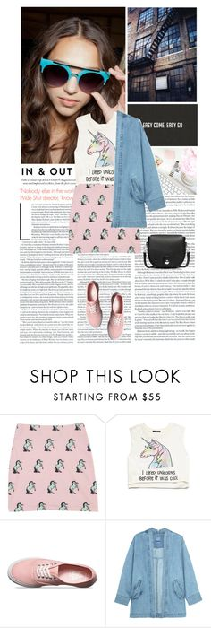 """""""Unicorns"""" by khammy ❤ liked on Polyvore featuring Forever 21, Vans, Steve J & Yoni P and rag & bone"""