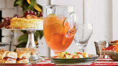 Citrus Sangria - Party-Perfect Sangria Recipes - Southern Living - Three ingredients are all it takes to make this big-batch party punch. This refreshing sangria is great for entertaining large crowds and will definitely keep the party going.  Recipe: