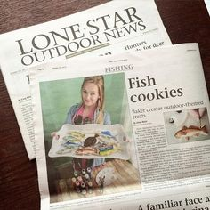Super excited to see what came in today's mail! Thanks for sending me some copies @lone_star_outdoor_news! If yall would like to read a little bit about Sugarbelle Sweets & my story go pick up the Lone Star Outdoor News Paper. I made it on page 8 & page 16. Thanks again to all my customers & the team of Lone Star for making this dream come true!