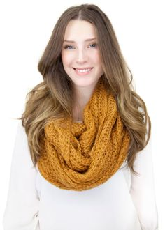 MUSTARD LACE KNIT infinity scarf lace knit scarf by gertiebaxter, $29.50