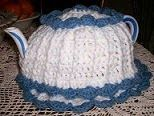 Nina's Tea Cozy and Doily       @1999 By N.L. Banks                                                                                      ...