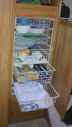 99 Great Tips For Organizing The Travel Trailer (9)