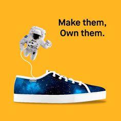 La imaginación es tu límite! __ #bustom #bustomshoes #zapatillaspersonalizadas #makethemownthem #zapatillas #moda #zapatos #deportivas #customshoes #lego #personalización #custom #calzado #diseño #arte