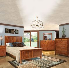 Amish Made Bedroom Suite