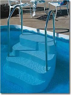 Wedding Cake Style Pool Step Pool Discount Warehouse Pool