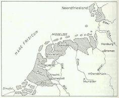 Het Friesland van de 7e eeuw onder Karel de Grote / 7th-century Frisia under Charlemagne