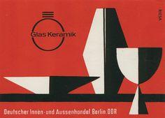 German DDR matchbox label 60s