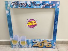 Mega marcos, Photo frame, new year frame, Party props, new year props