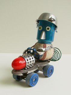 Dragster  - By Bill McKenney  Bills Retro Robots