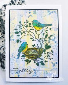 Stamps, Birds, Prints, Painting, Art, Seals, Art Background, Bird, Painting Art