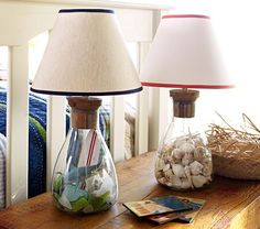 Collectors Complete Lamp | Pottery Barn Kids ~for the surfer girl bedroom, they have pink!