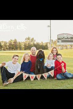 Family of 6 photo idea