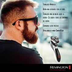 Detalla tu barba como más te guste y logra un look inigualable con la afeitadora Hyper Flex Verso. #beard #shave #style #man #cool
