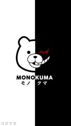 Monokuma 2 Side ~ Korigengi   Wallpaper Anime