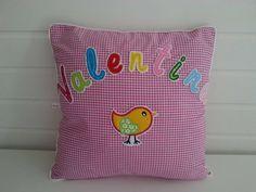 Kissen - Kissen mit Namen - ein Designerstück von Migeliedesign bei DaWanda