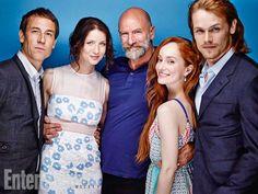 the cast at Comic Con
