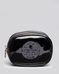 Great Tory Burch cosmetic case