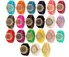 Wholesale 12 Assorted Geneva Platinum Womens watch 6886