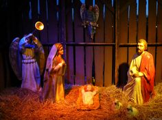 nativity scenes pictures | Nativity Scene