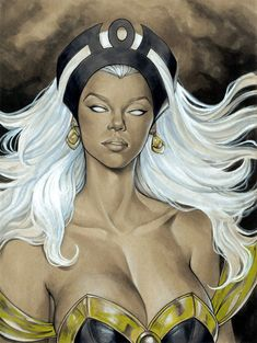 Storm from The X-Men and The Marvel Comic Universe. Comic Book Characters, Comic Book Heroes, Marvel Characters, Comic Books Art, Comic Art, Marvel Comic Universe, Marvel Art, Marvel Dc Comics, Marvel Heroes