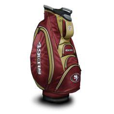 San Francisco 49ers Victory Golf Cart Bag