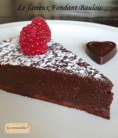 Ça croustille !: LE FAMEUX FONDANT BAULOIS (fondant au chocolat au caramel au beurre salé)