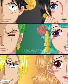 Ship by rapondaeoct on DeviantArt One Piece Ship, One Piece Luffy, One Piece Anime, Words To Describe, Best Couple, Character Description, Drawing Tools, Cartoon Characters, Manga Anime