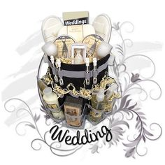 Send A Wedding Gift Basket : You Can Send A Spa Gift Basket To The Bridetobe To Gift Basket ...