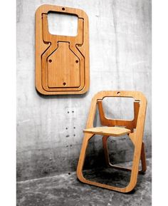 Flatpack chair by Witamina D. ▪️▪️▪️▪️▪️▪️▪️▪️▪️▪️ Source: @p.roduct . . . . . . . . . #wood #woodworking #carpentry #woodworker #woodwork #wooddesign #woodporn #upcycle #interiordesign #interiordesignporn #homemade #handmade #dowoodworking #wo