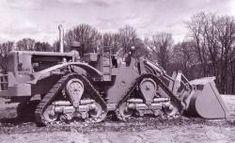 Caterpillar Track Loader | CAT 998 Track Loader, 1967, experimental, for working in rocks. Pict ...