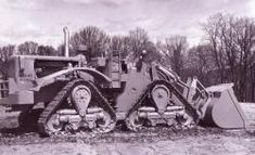 Caterpillar Track Loader | CAT 998 Track Loader, 1967, experimental, for working in rocks. Pict ...