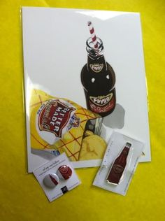 We're shining the light on Cheryl Oz this week, she has graciously offered up this set of Faygo flair for our art goody giveaway. Visit our blog to enter. Ends Sunday, July 27, 2014.