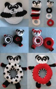 Panda Themed Toys For Baby $$