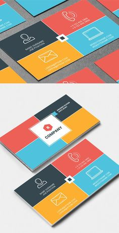 Creative Business Card Template #businesscards #corporatedesign #printready #branding #logodesign