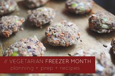Vegetarian Freezer Month: 20 dinners for 2 people (and a toddler) for $70! here's the planning, prep, and recipe details! // neverhomemaker