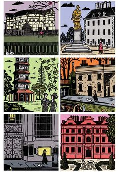 Christopher Brown's An Alphabet of London will be published in March 2012. >>Vaguely reminiscent of Bawden and Ravilious. Very pleasing.