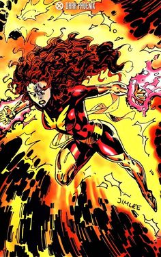 Astonishing X — Dark Phoenix by Jim Lee