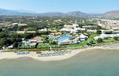 Lyttos Beach Hotel, Crete - this one seems good, and it's near a few bars and things :)