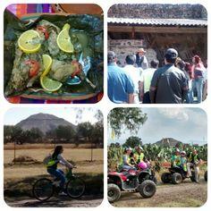 #Piramides, #bicis #Motos y mas, elige tu experiencia en #Teotihuacan