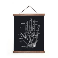 Curious Prints! Magnetic Hanging Frame Hanging Frames, Palmistry, Neodymium Magnets, Clamp, Chalkboard Quotes, Cool Style, Paper, Prints, Vintage